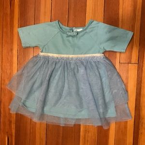 Adorable Hanna Andersson Tulle baby dress 75